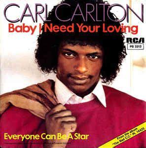 carl carlton baby    loving vinyl  single