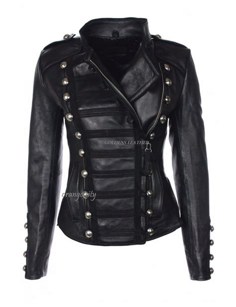 the best womens motorcycle black leather jackets with