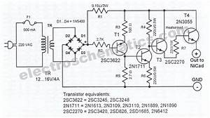 Untitled  U2014 Automatic Battery Charger Schematic