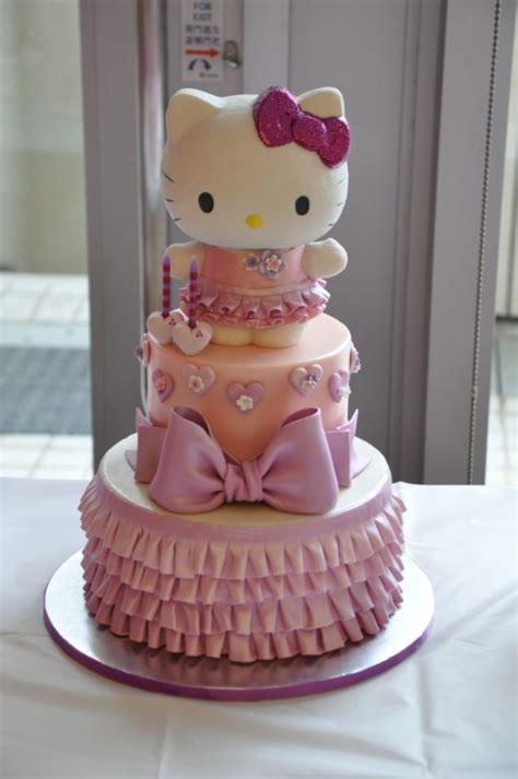 Best Hello Kitty Birthday Cake Ideas And Images On Bing Find