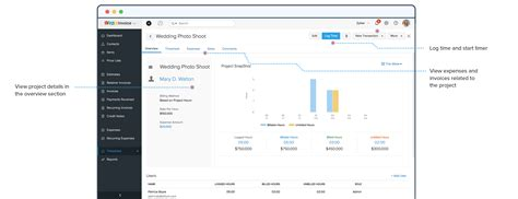 project time tracking software zoho invoice