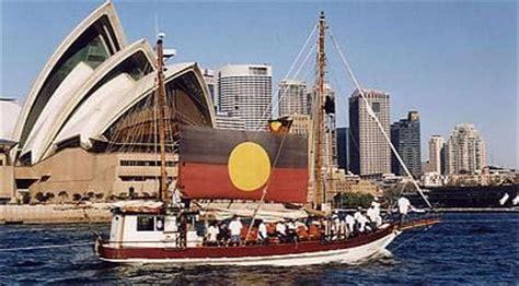 Tribal Warrior Boats by Australia Special Aboriginal Sydney Telegraph