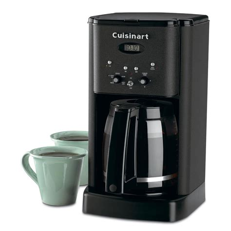 Cuisinart DCC 1200 Brew Central 12 Cup Programmable Coffeemaker   Matte Black   Coffee Makers at