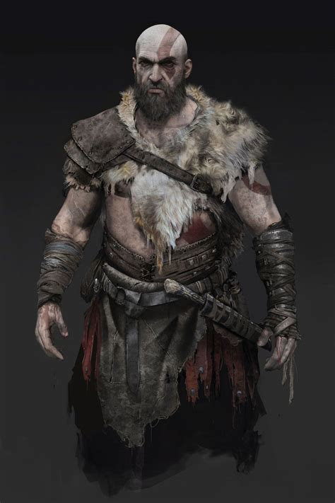 Kratos Clothing Concept From God Of War Armor And Clothing