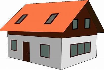 Clip Clipart Cliparts Houses Homes Graphics Estate