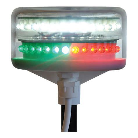 led marine navigation lights nasa marine navigation boat mast light supernova combi