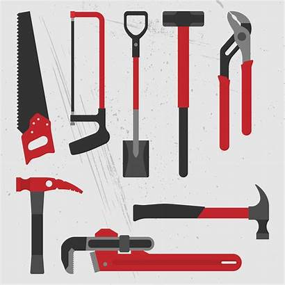 Tools Vector Building Hand Hammer Sledge Clipart