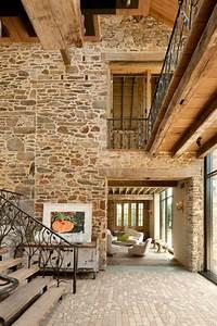 decoration interieur maison en pierre kirafes With decoration interieur en pierre
