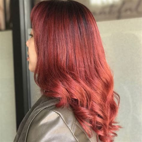 sangria hair color sangria hair we this fall hair color trend color