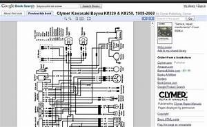 Wiring Diagram For Kawasaki 1996 300