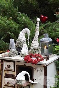 Wichtel Aus Tannengrün : wichtel aus beton diy living green ~ Whattoseeinmadrid.com Haus und Dekorationen