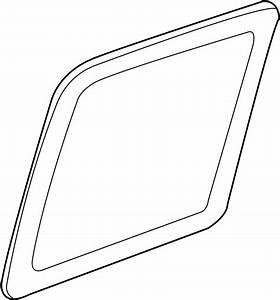 Chevrolet Silverado 3500 Door Glass  2000
