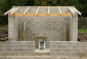 Prix Garage Parpaing 20m2 : garage parpaing une pente maison fran ois fabie ~ Dailycaller-alerts.com Idées de Décoration
