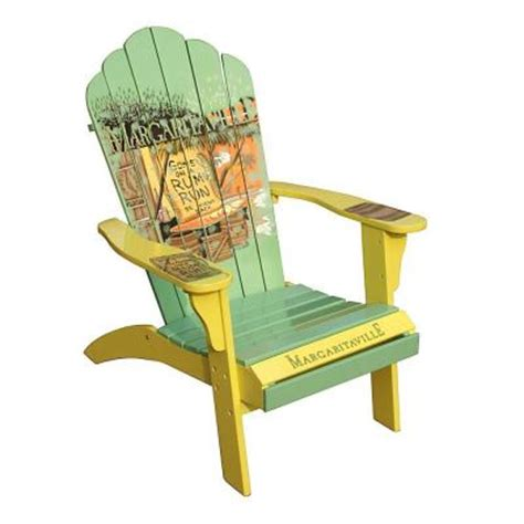Margaritaville Classic Adirondack Chair by Margaritaville Rum Run Classic Adirondack Patio Chair