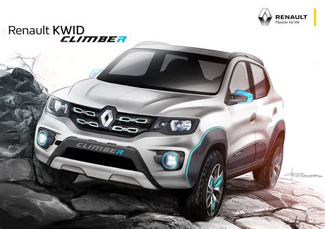 renault kid renault kwid racer and renault kwid climber premiered at