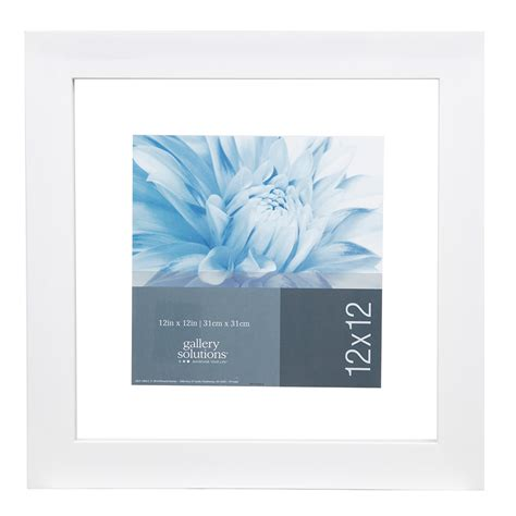 Gallery Solutions 12X12 White Float Frame For Floating ...