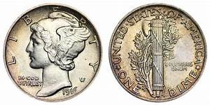 1916 Mercury Silver Dimes Value And Prices