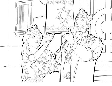 Раскраски холодное Раскраска Анна и эльза лепят с олафа