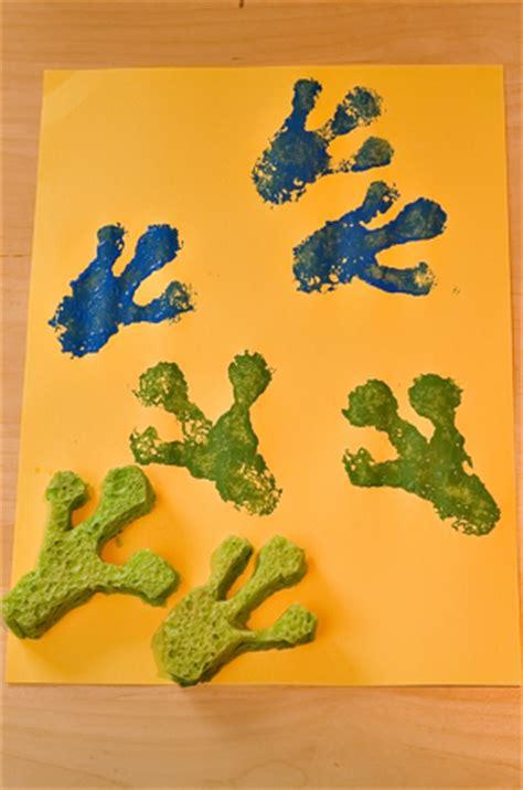 frog footprints activity educationcom