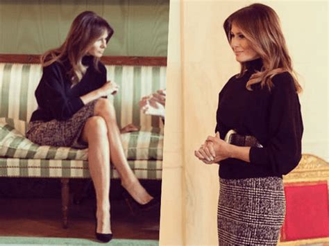 Fashion Notes: Melania Trump Stays On-Trend in Oversized ...