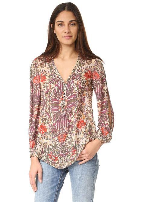 haute hippie blouse haute hippie haute hippie sagat blouse casual shirts