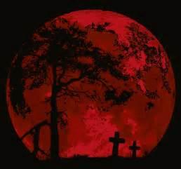 Halloween Blood Red Moon