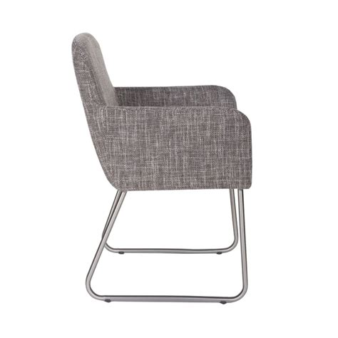 chaise drawer chaise tissu gris diantha par drawer fr