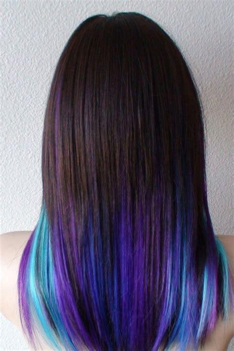 fabulous rainbow hair color ideas hair pinterest