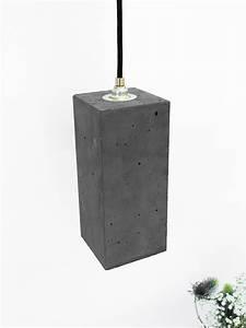 Beton Pflanzkübel Rechteckig : h ngelampen und h ngeleuchten aus beton gantlights ~ Sanjose-hotels-ca.com Haus und Dekorationen