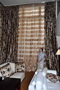 Tissus Pour Double Rideaux : voilages et double rideaux dans un h tel particulier atelier secrea ~ Melissatoandfro.com Idées de Décoration