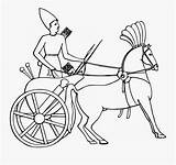 Chariot Coloring Carriage Egypt Ancient Charioteer Clipart Clipartkey sketch template