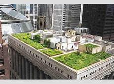 Building a green roof or rooftop garden Construction Study