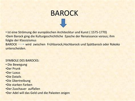 ppt barock powerpoint presentation id 1944689