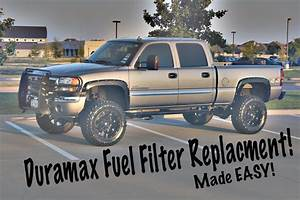 Easy Duramax Fuel Filter Replacement