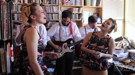 lucius npr music tiny desk concert youtube