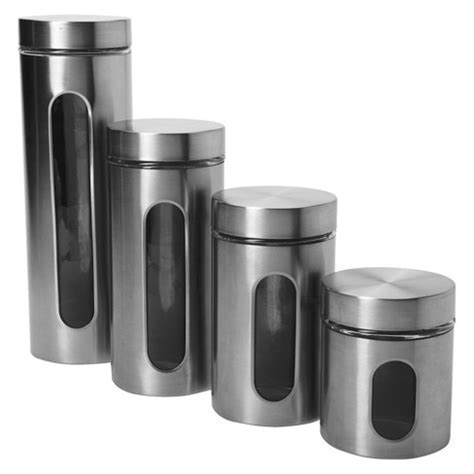 Anchor Hocking Pallaida Window Canister Set of 4 : Target