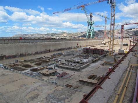 port maritime de marseille marseille le port r 233 nove sa forme 10 pour r 233 parer les plus gros navires de croisi 232 res
