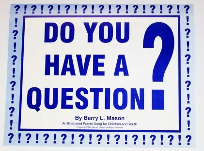 Do You Have A Question? Dqi
