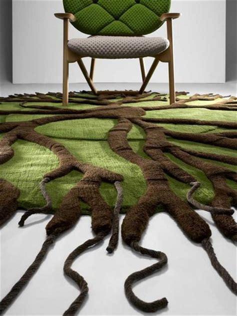 tapis chic inventifs  figuratifs cote maison