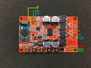 Voltlog  78  U2013 2x25w Bluetooth 4 1 Stereo Amplifier