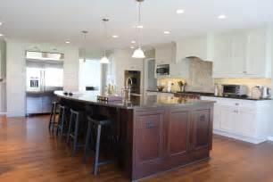 kitchen island com two tone kitchen architecture by janak