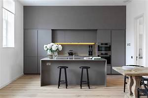 30 gorgeous grey and white kitchens that get their mix right With kitchen cabinet trends 2018 combined with copper tree wall art