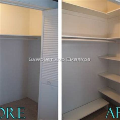 Building Your Own Closet by Building Your Own Custom Shelving Closet Organization