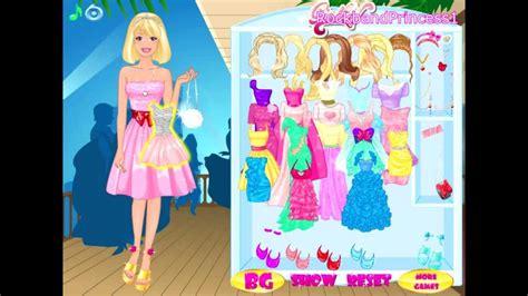 barbie games barbie doll dress  game youtube
