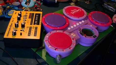 Circuit Bent Dream Dazzlers Drum Toy Freeform Delusion