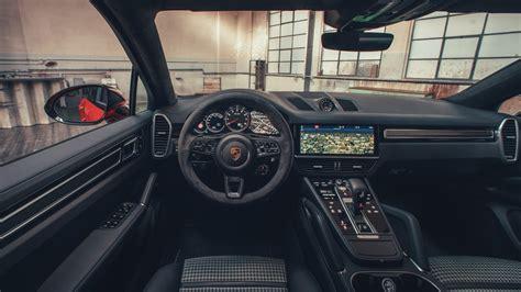 porsche cayenne turbo coupe   interior wallpaper