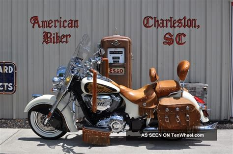indian chief vintage  dealer installed custom paint