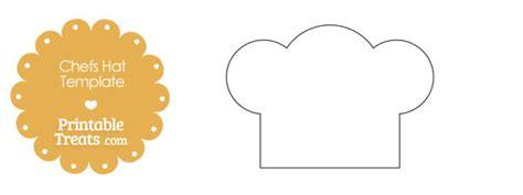 printable chefs hat outline printable treatscom