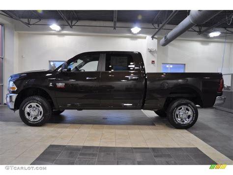 dark brown jeep 2011 rugged brown pearl dodge ram 2500 hd slt crew cab 4x4