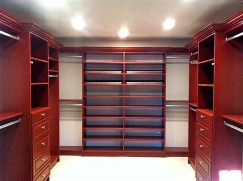 cherry master bedroom closet traditional closet